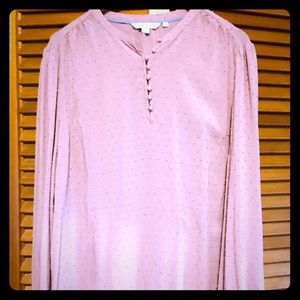 Lightweight pink blouse